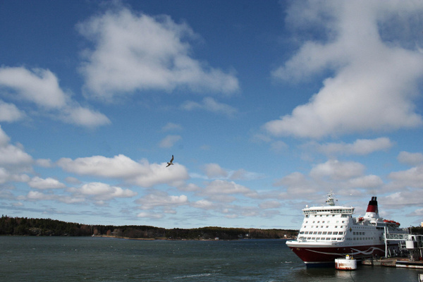 Baltic ferry - Fährentausch by StefsPictures