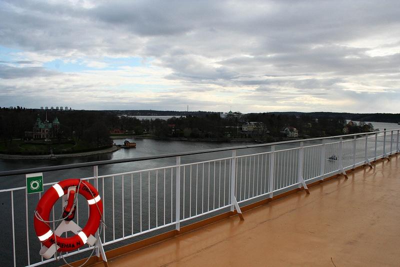 Baltic ferry - Abreise