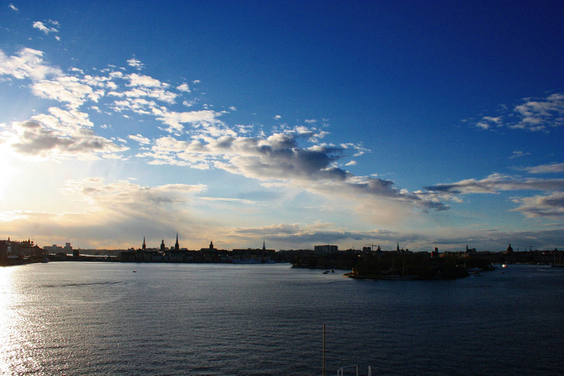 Baltic ferry - zureuck in Stockholm