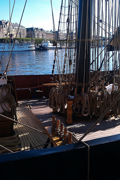 Segelschulschiff Roald Amundsen by StefsPictures