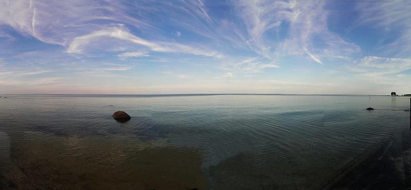 Die Ostsee am Strand von Bärby