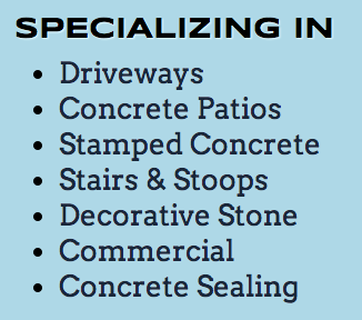 Concrete Contractor in Roselle IL by Gcat