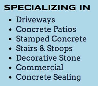 Concrete Contractor in Roselle IL