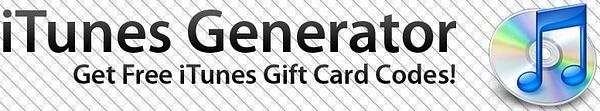 itunes code generator by PatrickHardy