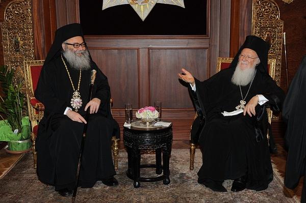 الزيارة السلامية إلى بطريركية القسطنطينية by Antioch Patriarchate