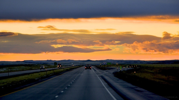 Heading home, WY by cironera