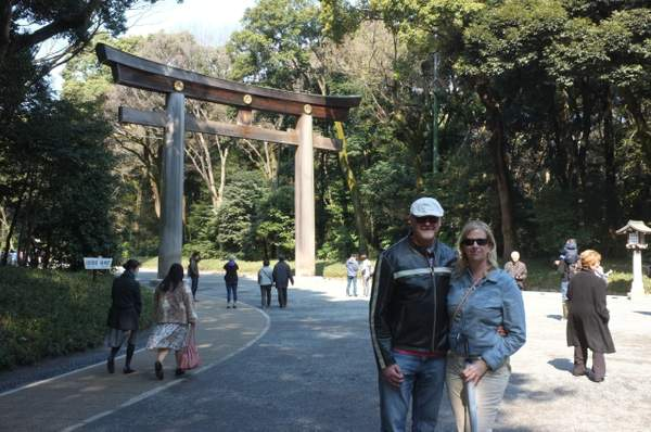 sara and clive - meiji shrine
