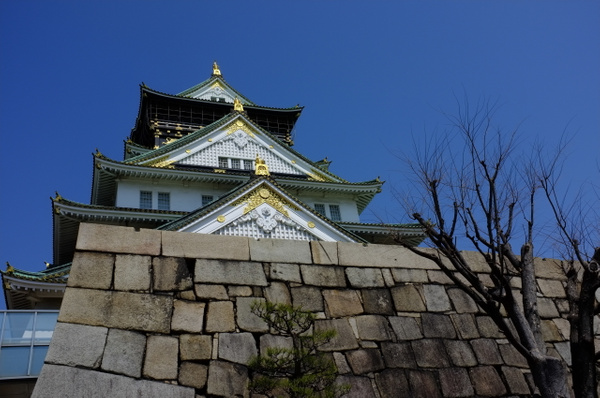 more osaka castle by cironera