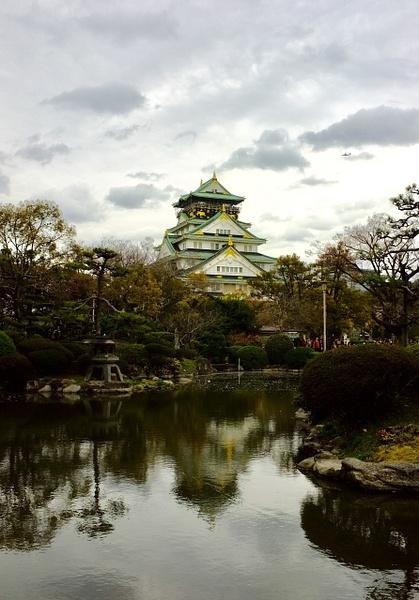 Osaka-jo by cironera