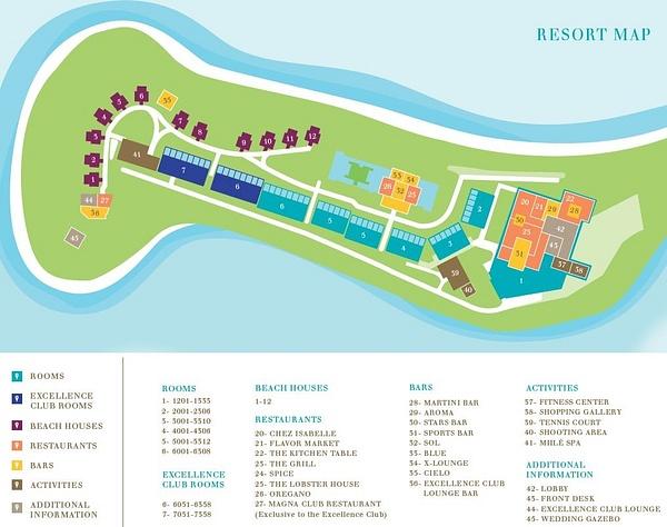 XOB map :...