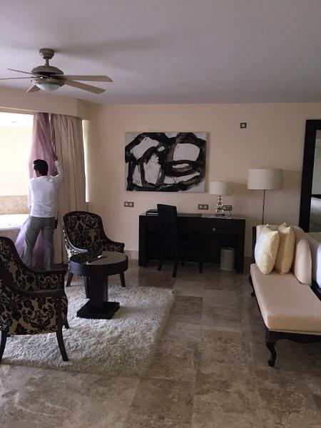 Bedroom sitting area by Lovethesun