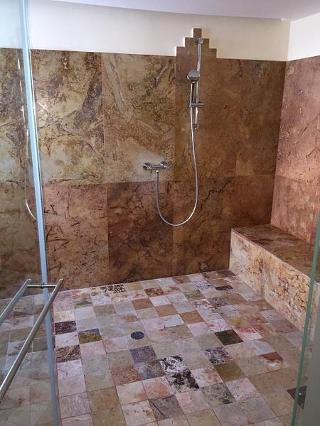 Huge shower by Lovethesun