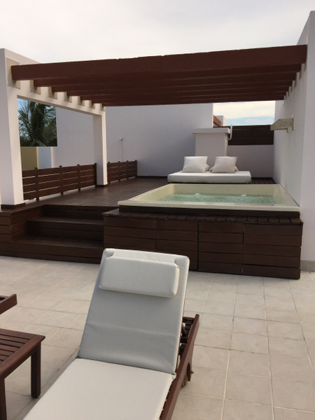 Plunge Pool on Roof Top by Lovethesun