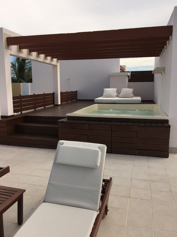 Plunge Pool on Roof Top