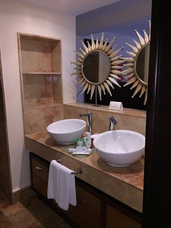 Bathroom - open concept