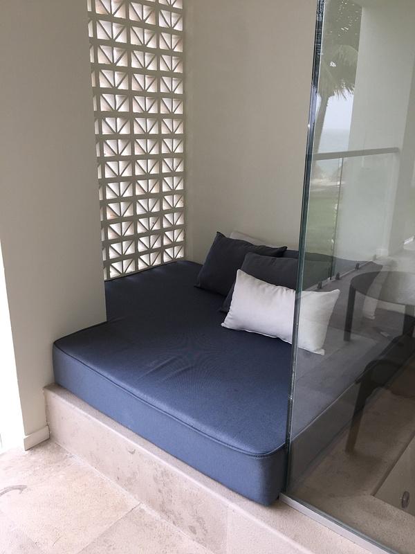 Bed on Balcony