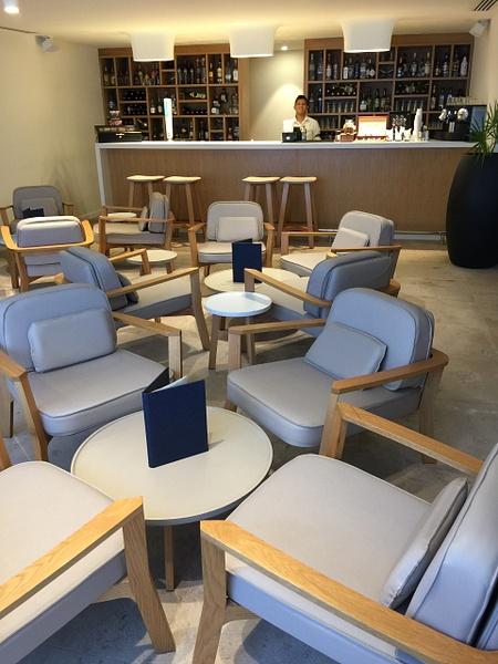 Finest Club Concierge lounge inside building 5 by...