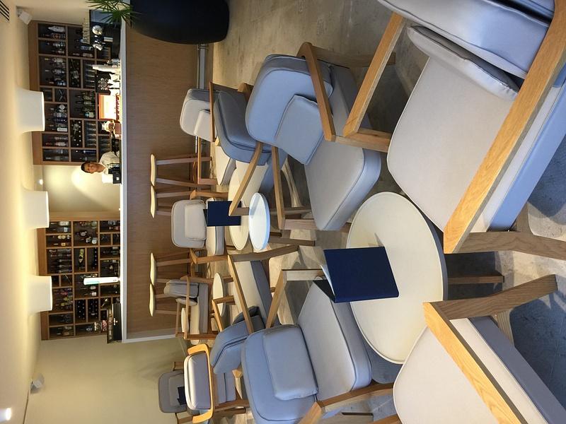 Finest Club Concierge lounge inside building 5