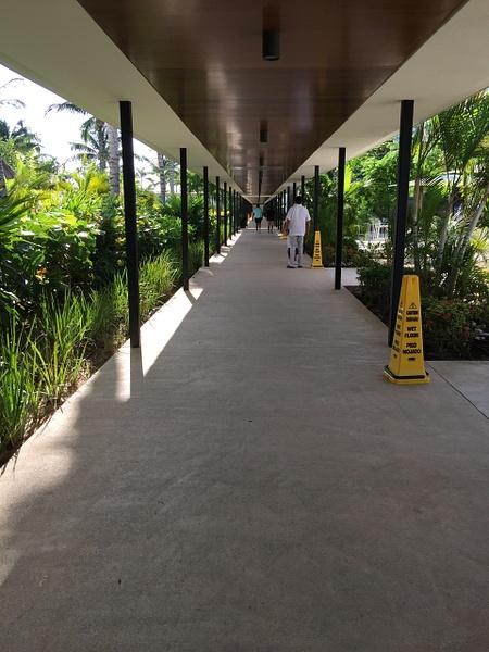 Walkway from Sweet Corner towards EC Lounge - by...
