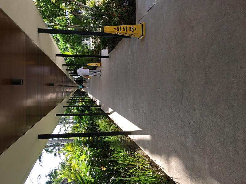 Walkway from Sweet Corner towards EC Lounge -