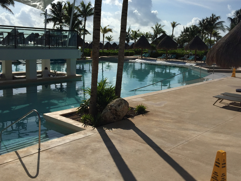 Adult only side of Main pool