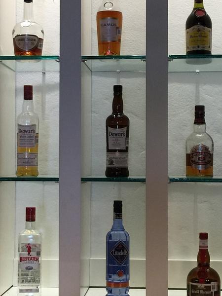 Liquor selection EC Lounge by Lovethesun