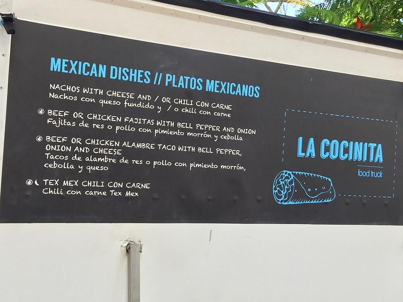 La Cocinita menu