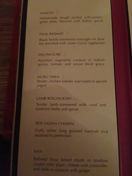 Basmati menu - EPM by Lovethesun