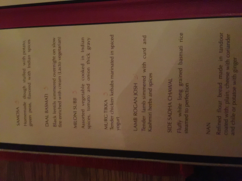 Basmati menu - EPM