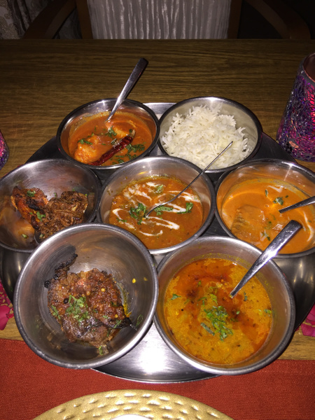 Dinner at Basmati by Lovethesun