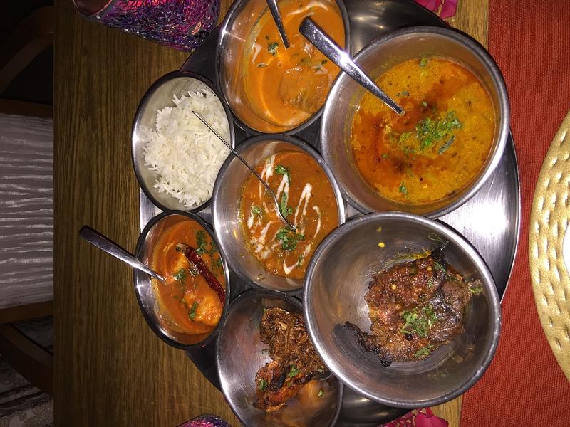 Dinner at Basmati