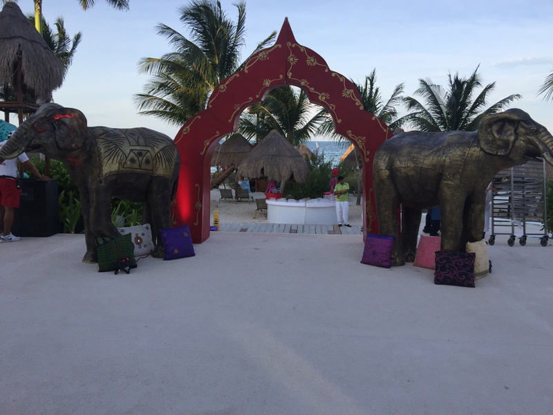 Entrance to Bollywood Night