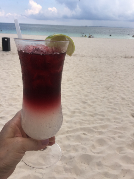 Happiness is - Sangria on the beach by Lovethesun