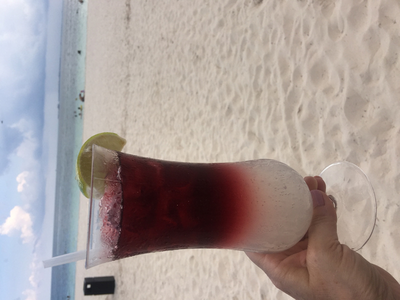 Happiness is - Sangria on the beach