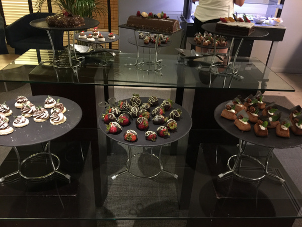 Chocolate Time in the EC Lounge by Lovethesun