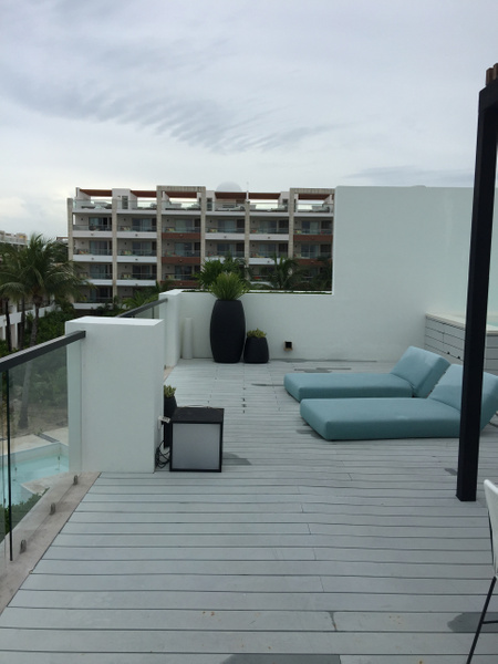View of Excellence Playa Mujeres next door by Lovethesun