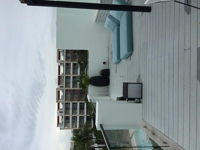 View of Excellence Playa Mujeres next door