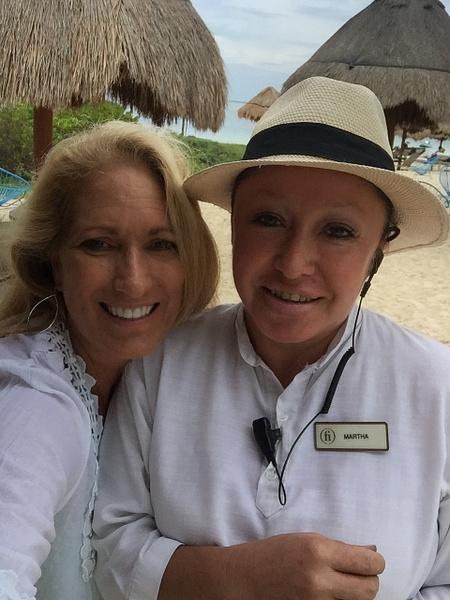 Martha Barrientos - Amazing Finest Club Beach Concierge...