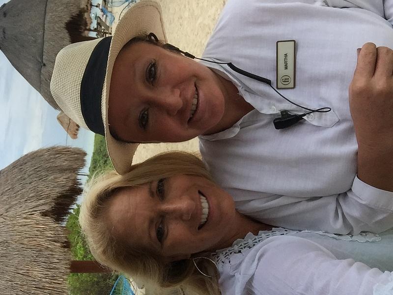 Martha Barrientos - Amazing Finest Club Beach Concierge