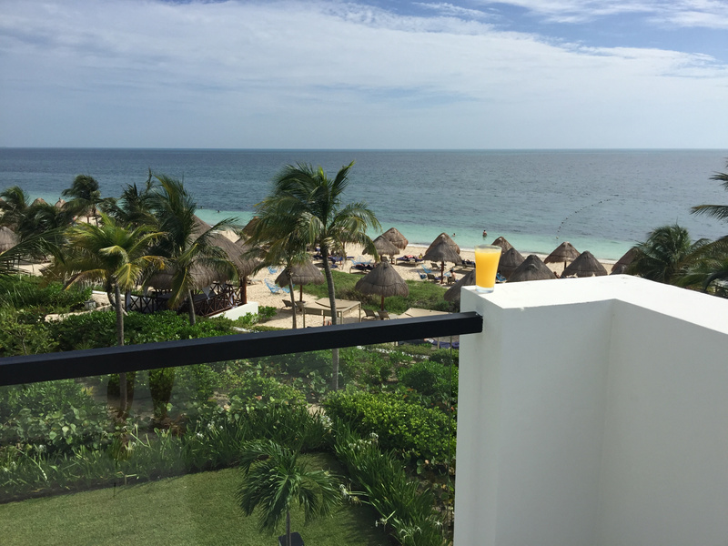 Morning mimosa view from EC Imperial Suite RTT