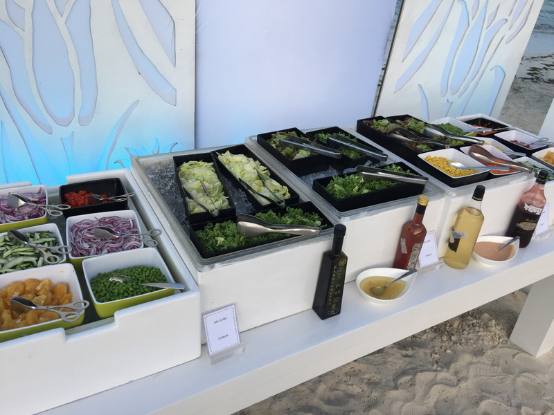 Salad Bar at White Night