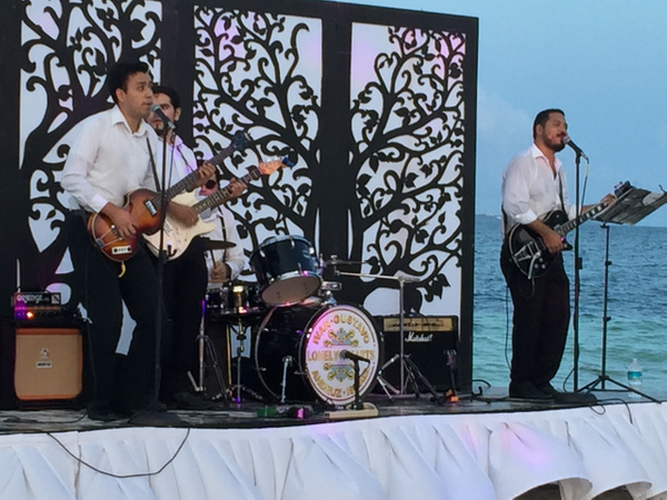 Beatles Tribute Band at White Night by Lovethesun