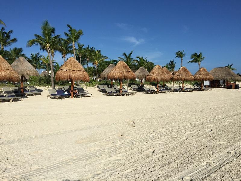 Regular beach area