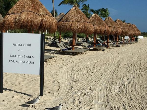 Finest Club Beach Area by Lovethesun