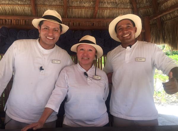 Paul, SInuhe and Martha - FC Beach Concierges -amazing!...