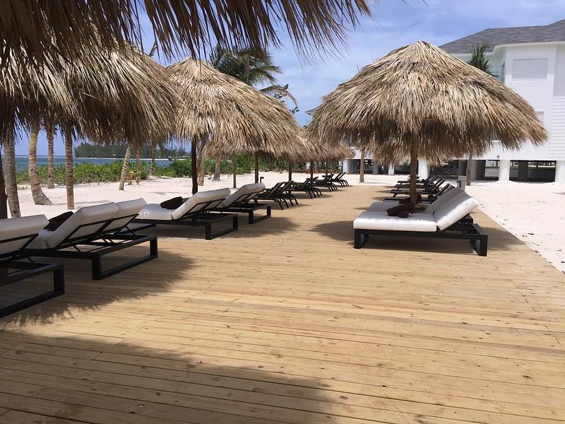 EC Beach deck area