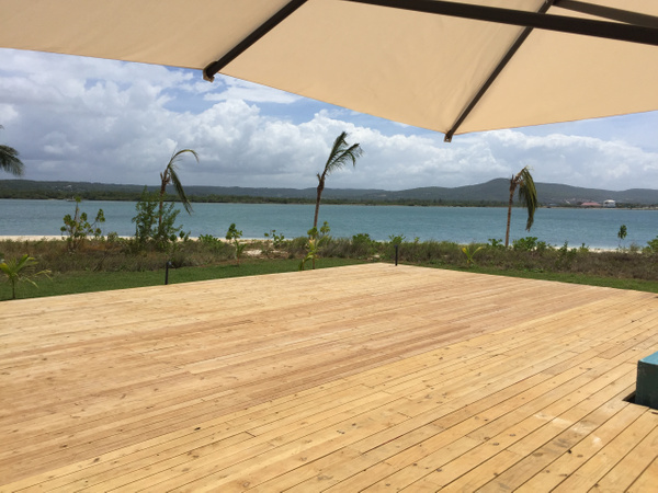 Deck area adjacent to EC Pool by Lovethesun