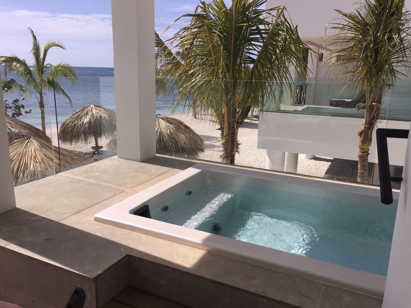 Beach House Plunge pool
