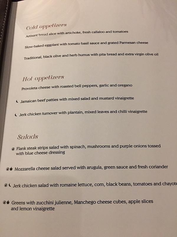 Grille menu