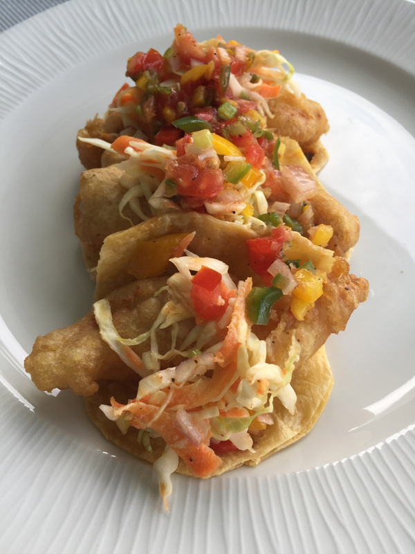 Fish tacos at Lobster House
